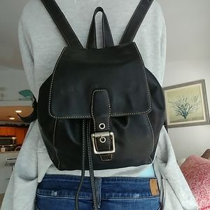 Coach Legacy Day Black leather backpack 9569